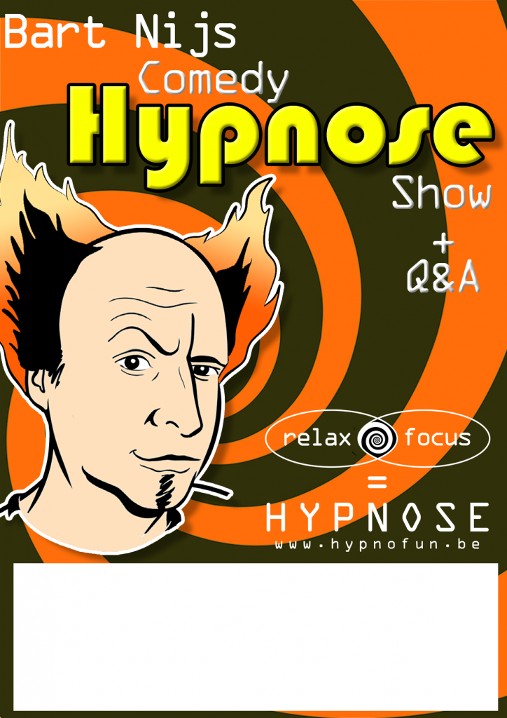 Comedy Hypnose Show affiche